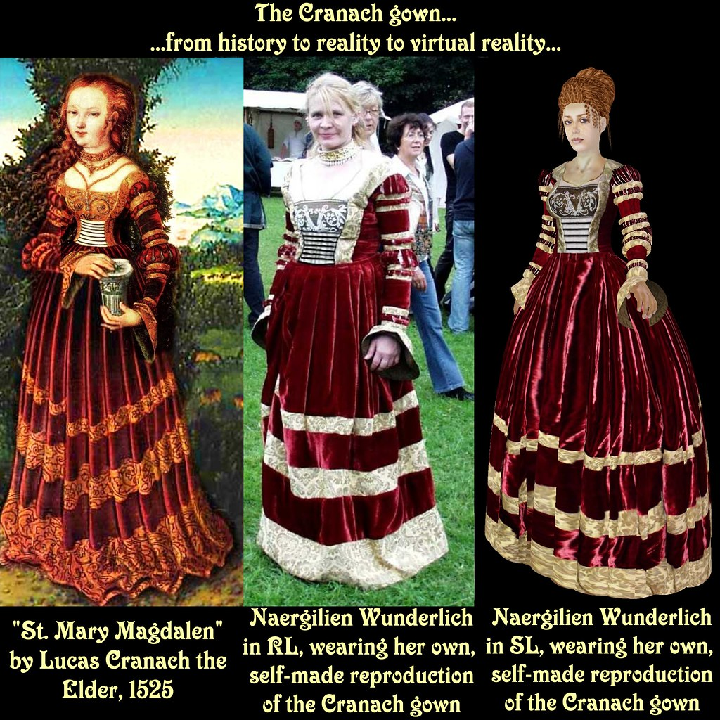 Historical, real and virtual - a dress evolution | This pict… | Flickr