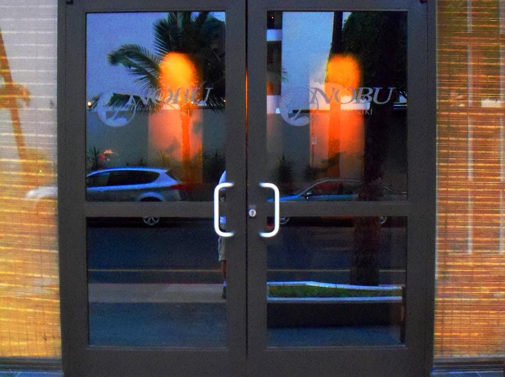 Nobu Waikiki Seafood Restaurant Front Entrance Doors O Flickr