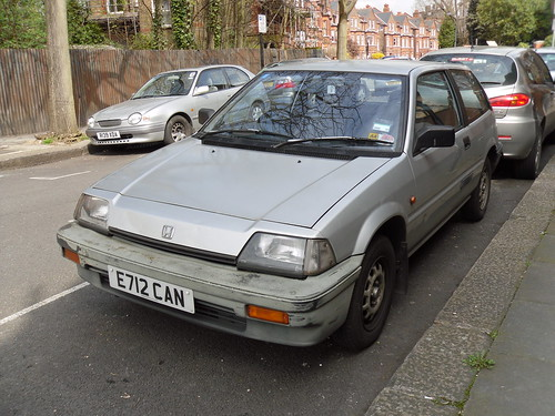1987 honda civic 1 3 automatic hatchback quite a bit of. Black Bedroom Furniture Sets. Home Design Ideas