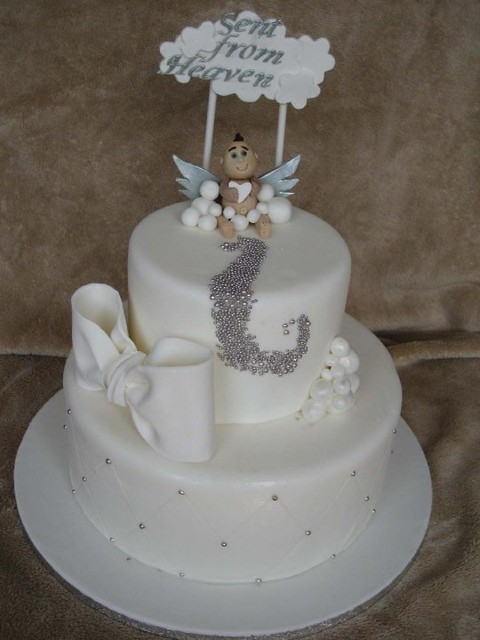 Angels Themed Cake