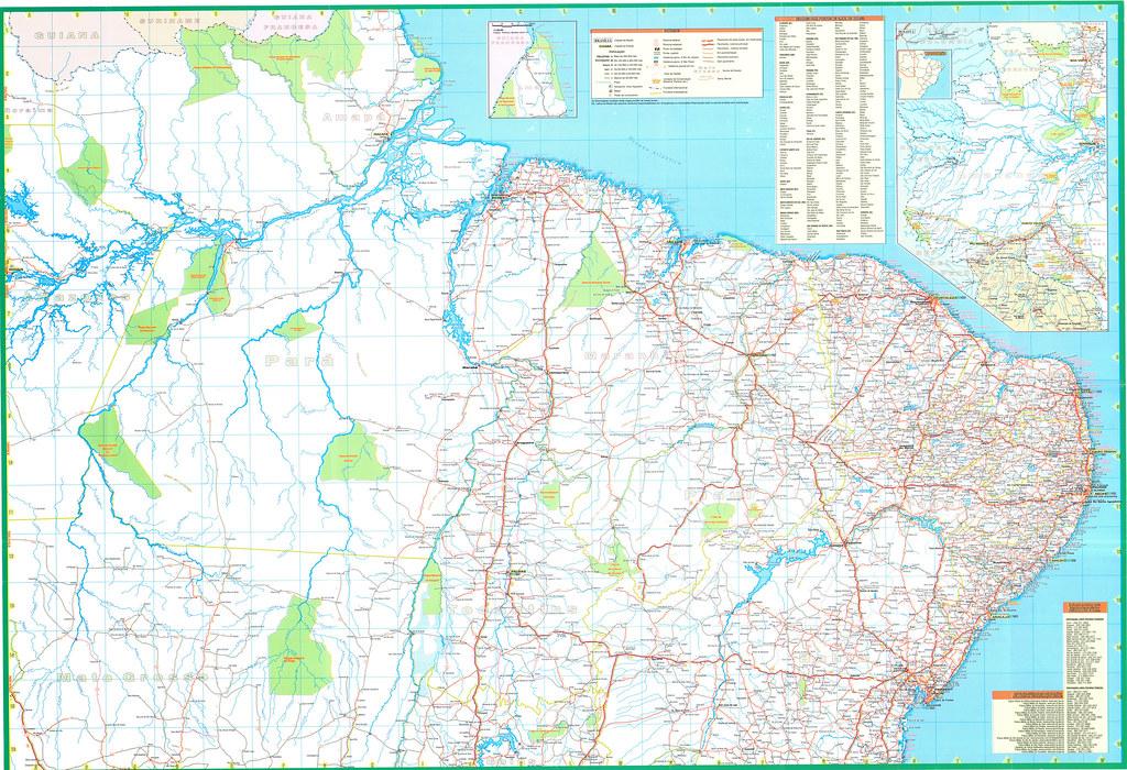 Brazil road map mapa vial de Brasil 02 Douglas Fernandes Flickr