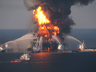 Deepwater Horizon Fire - April 22, 2010 | by SkyTruth