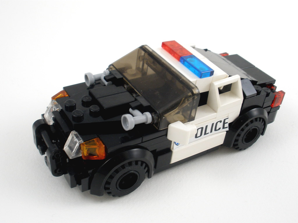Crown Victoria Police Cruiser By Jack Marquez