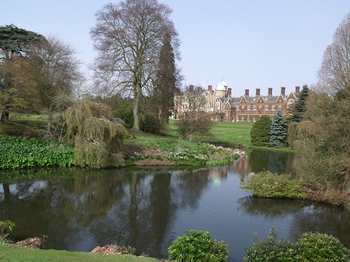 Sandringham House and the upper lake | by ell brown