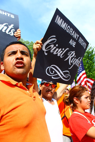 May Day March for Immigration Reform | by j valas images