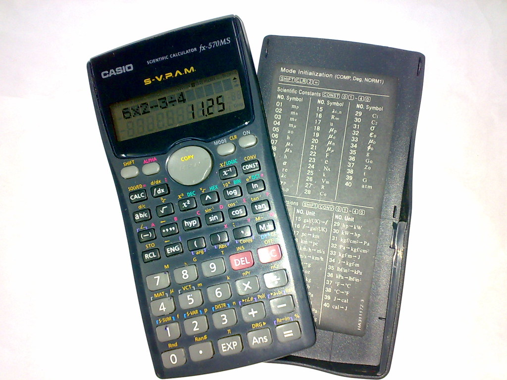 CASIO FX-500 Manual