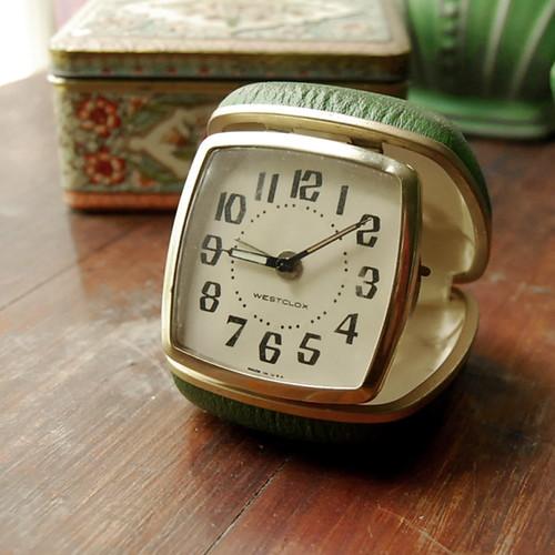 Vintage Westclox Travel Alarm Clock This Vintage Travel