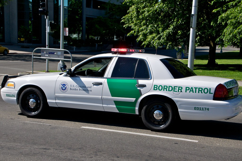 U S Border Patrol Car Cars That Took Part In The Peace