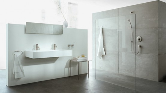 Luxury White And Black Dressinh Room