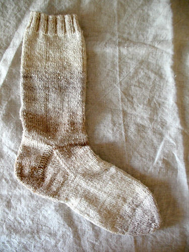cream sock | by coco knits