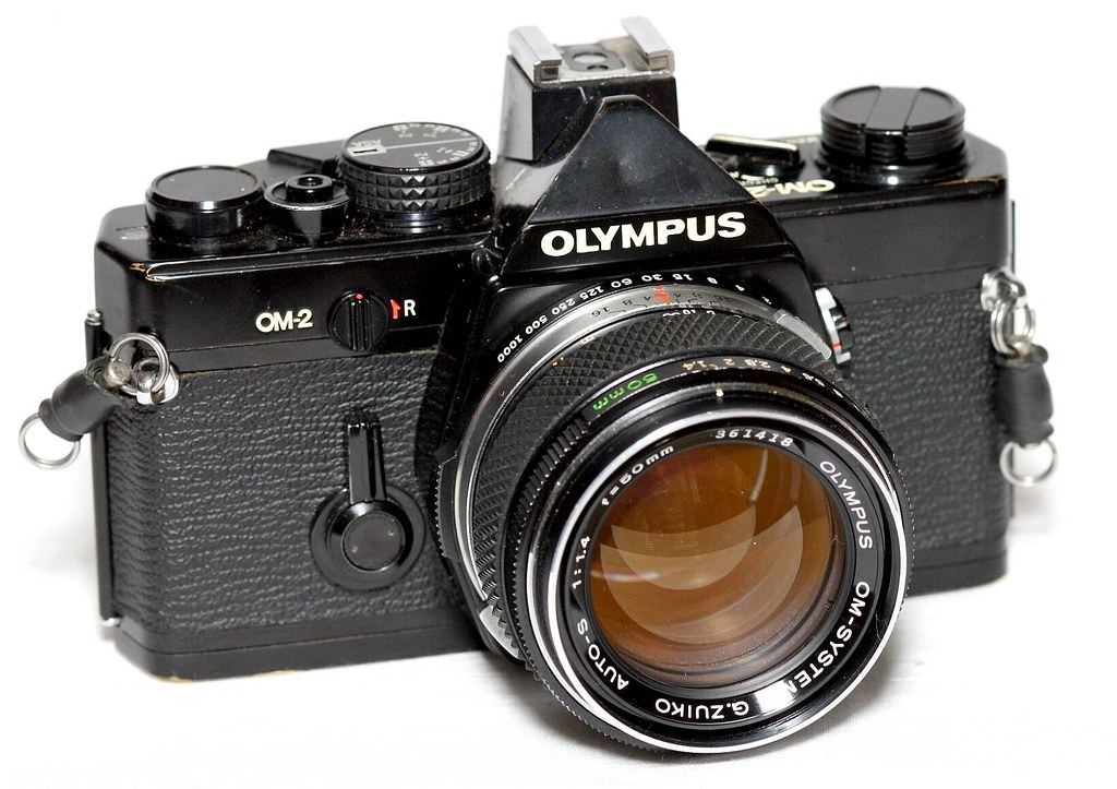 My Olympus OM-2 | A little flaky in auto mode; tends to ...