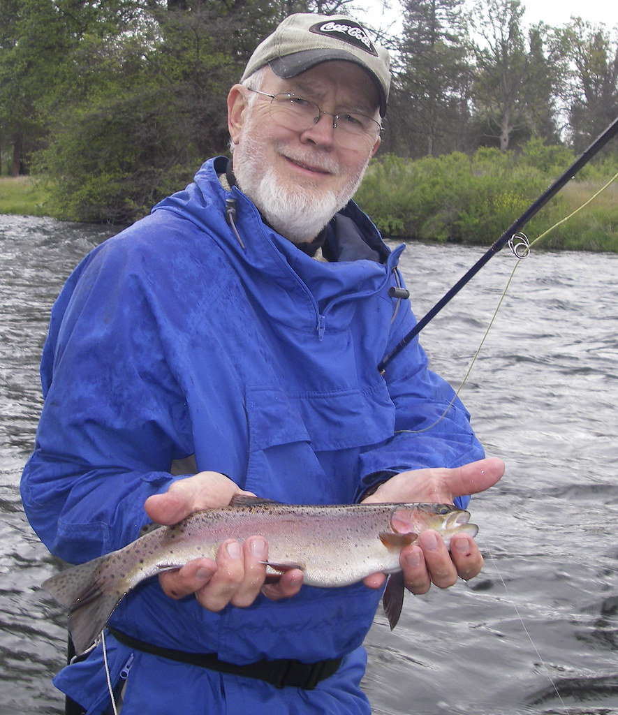 Don finds a hat creek dry fly beauty shastatrout photo for Fly fishing guide jobs