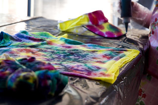 tie-dye progress | by HOLLi*