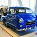 Rennwagen-Schnelltransporter - 1955 Mercedes-Benz high-speed racing car transporter