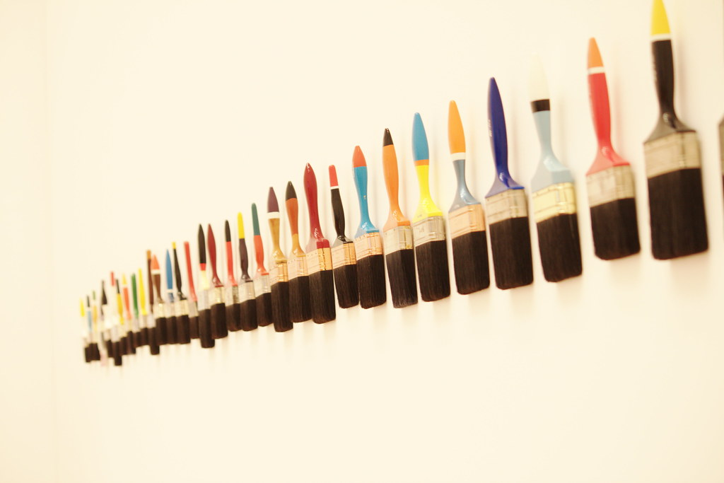 2010 06 13 14 32 15 Paint Brushes On Wall Img 8599 Flickr