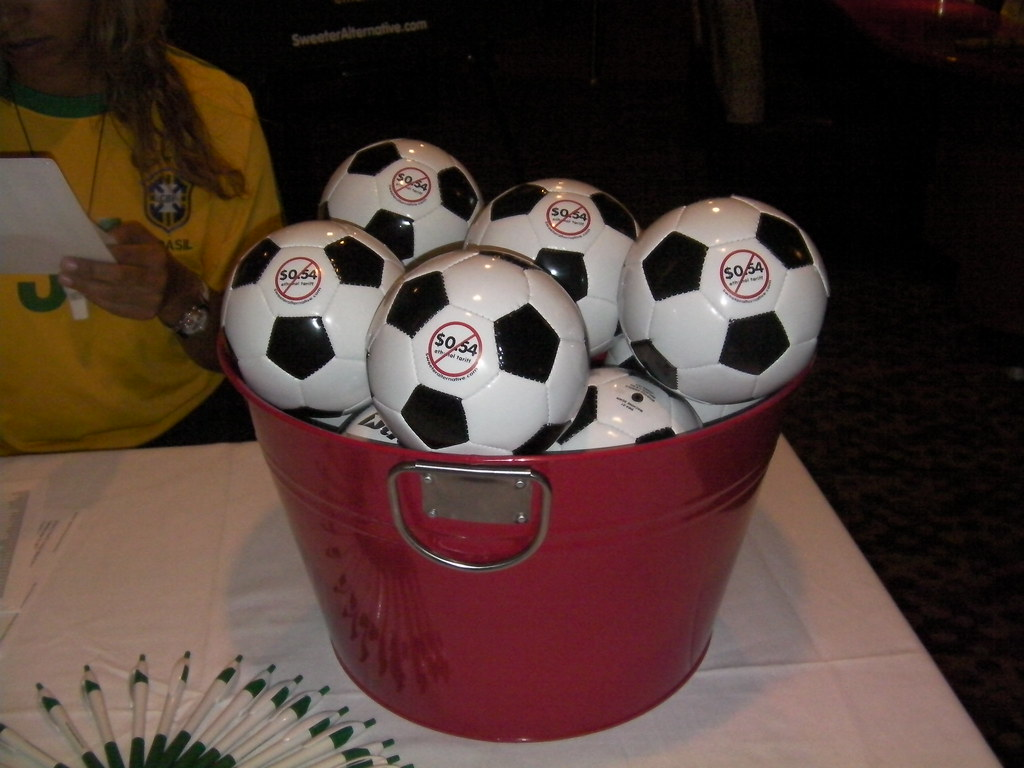 Another Party Favor Mini Soccer Balls World Cup Viewing