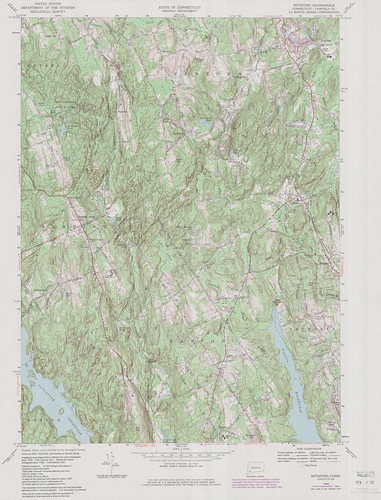 Botsford Quadrangle 1984 - USGS Topographic Map 1:24,000 | by uconnlibrarymagic