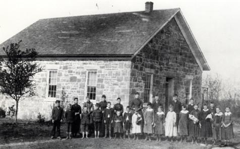 One Room School House Lanesfield Johnson County Museum