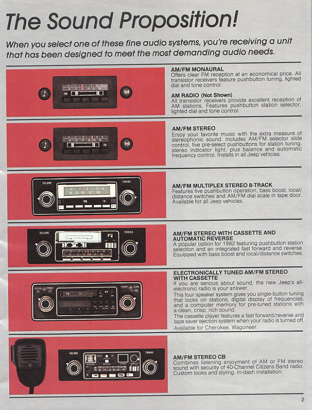 jeep accessories catalog 1982 geepstir flickr. Cars Review. Best American Auto & Cars Review