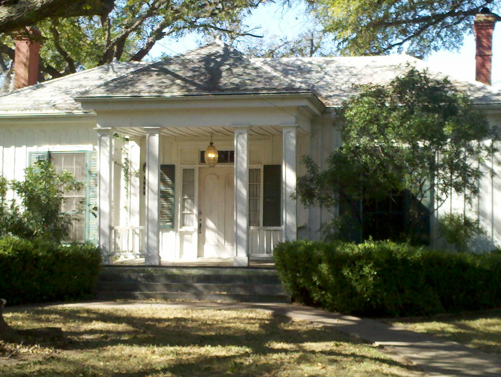 Bastrop i love the one story hipped roof greek revival for Diy stone house revival