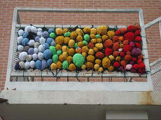 Yarn Bomb. | by jenniferpkim