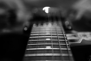 My Guitar in Black & White | by 55Laney69