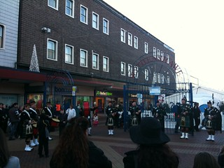 The bagpipes in Wythenshawe | by Gene Hunt