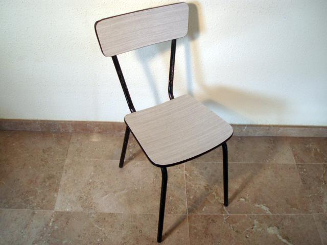 Silla formica de los a os 70 silla formica de los a os - Sillas formica ...