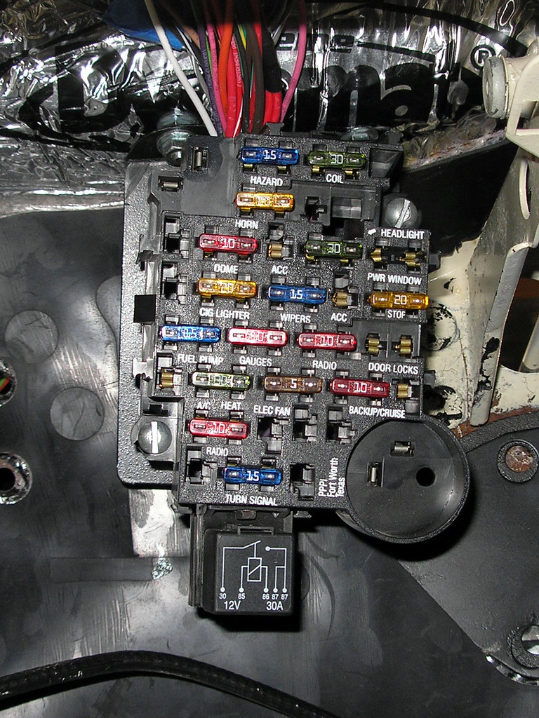 How To Install A Fuse Box In A Car : New fuse box this is the painless wiring