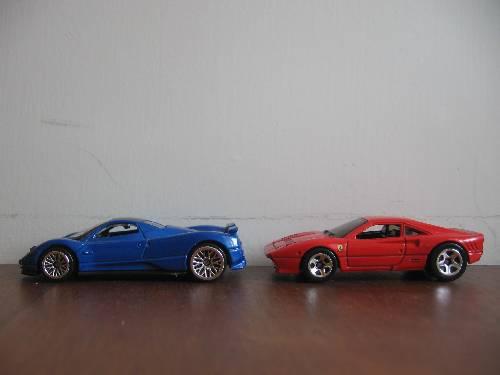 Pagani Zonda And Ferrari 288 Gto 1 64 Scale Motor Max