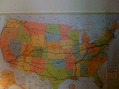 Updated version of my roadtrip map Jan 14, 2010 | by NathanAndrewWinters