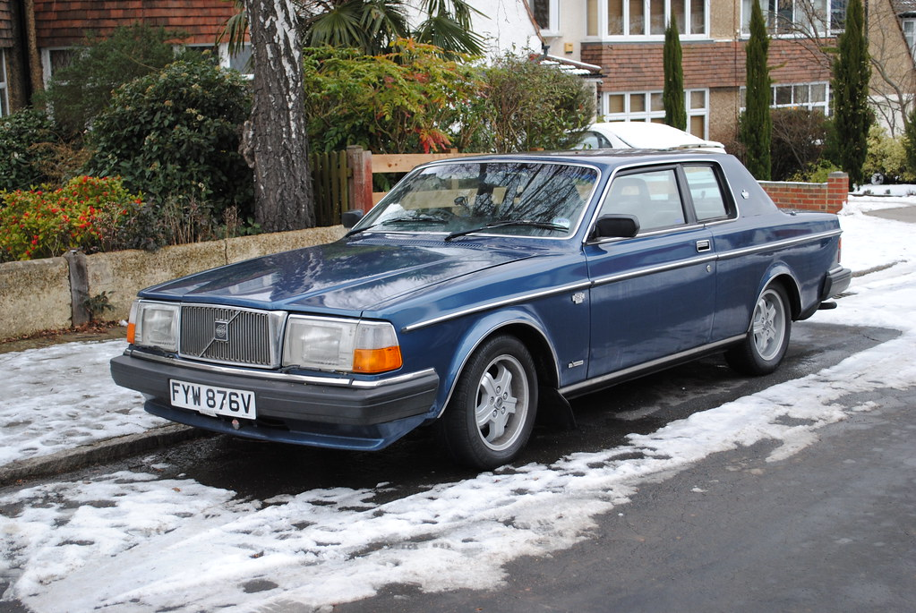 Volvo 262c Coupe Version Of The 240 Is A Rare Sight In