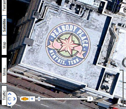 Peabody Place Roof Ad in Google Maps   The Peabody Place Roo…   Flickr