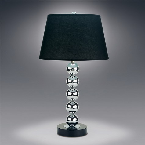 13977 Silver Ball Table Lamp Woodlands Fabrics Interiors Flickr