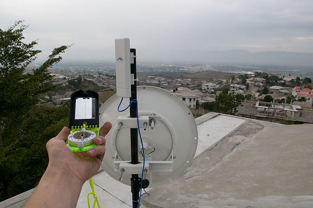 Aligning Long Distance Wifi Antennas With Gps Compass An