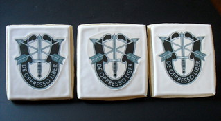 Special Forces Crest Decorated Cookie | by Sugar Envy