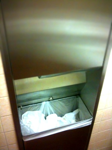 Bathroom Trash Bin | by Overhead Fluoressence