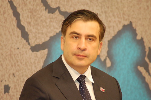 HE Mikheil Saakashvili, President of Georgia | by Chatham House, London