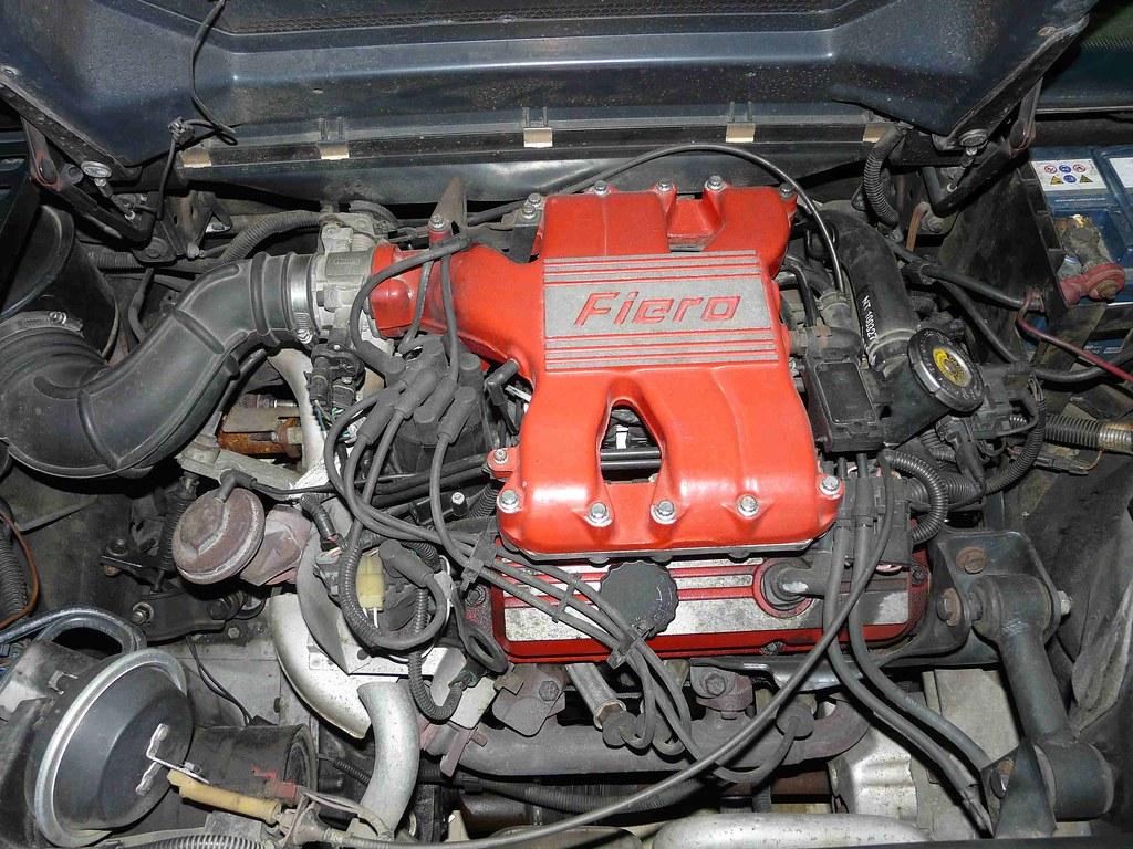 pontiac fiero 1988 2 8l v6 engine vincent flickr