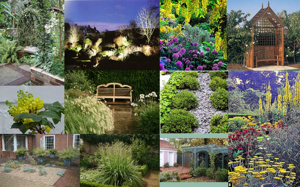 Mood Board For Small Urban Garden Wendy Matheson Flickr
