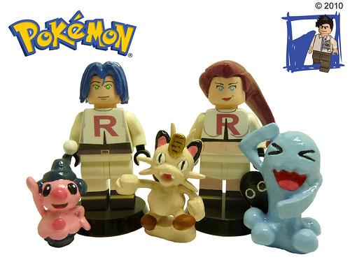 Team Rocket 2 Team Rocket Version 2 From The Pokemon Ser Flickr