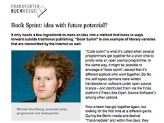Frankfurt Book fair covers Collaborative Futures | by mandiberg