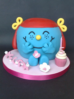 Little Miss Giggles Cake | by SmallThingsIced