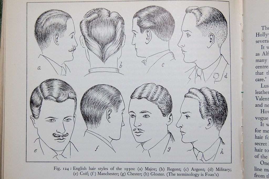 In The Stacks Illustration Of English Hairstyles Of The 19 Flickr