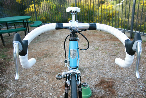 brake hoods on track bars | by Richard Masoner / Cyclelicious