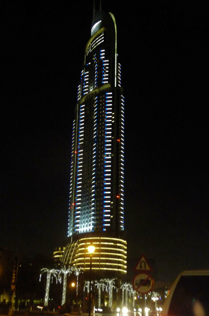 Address hotel near burj khalifa aka burj dubai called for Dubai hotels near burj khalifa
