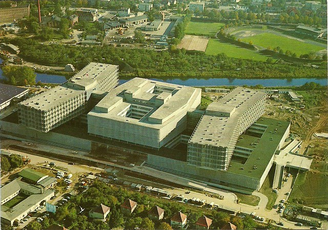 Berlin steglitz klinikum postcard germany 60s 70s for Küchenstudio berlin steglitz