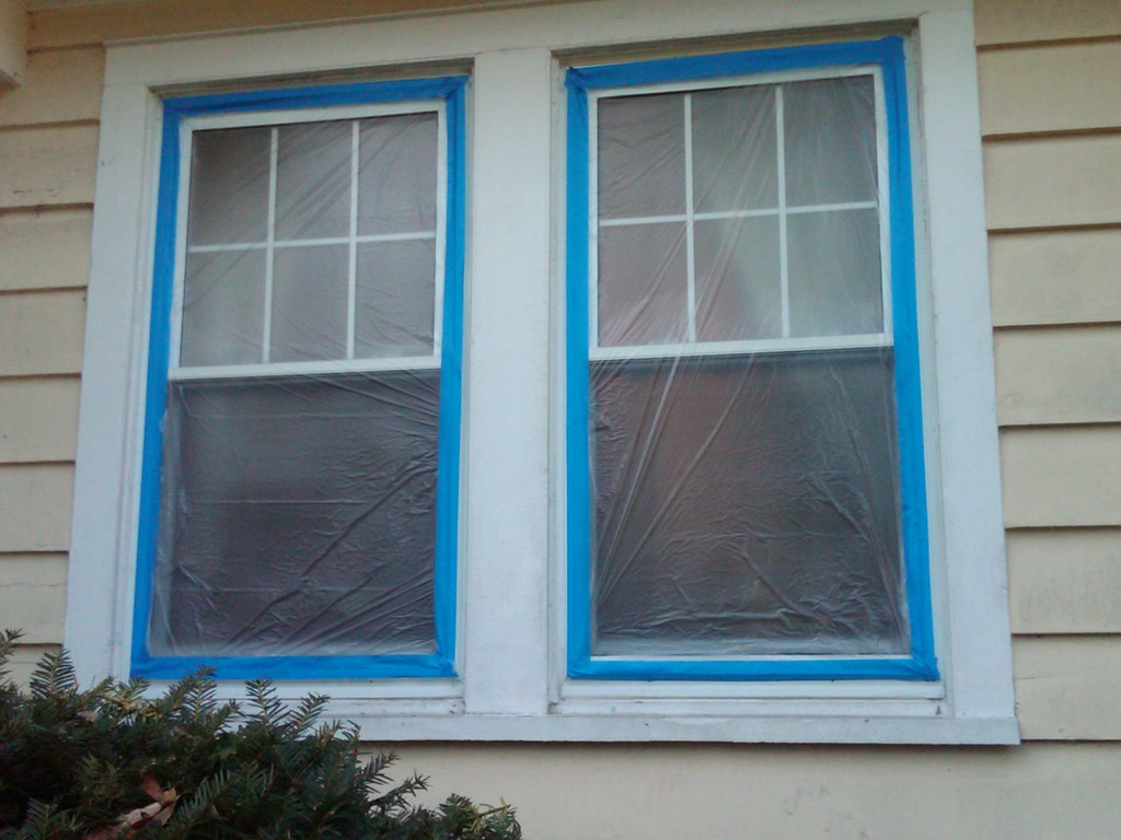 Exterior window trim for painting wood shingle siding in m for Type of paint for trim