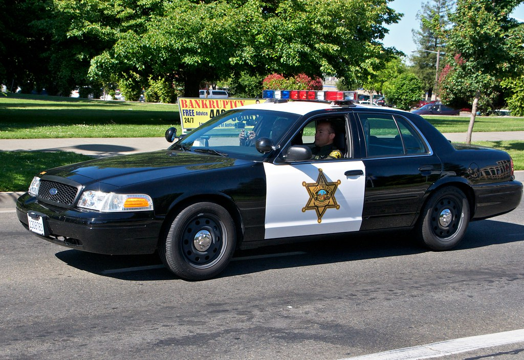 Orange County Sheriff Ford Cars That Took Part In The