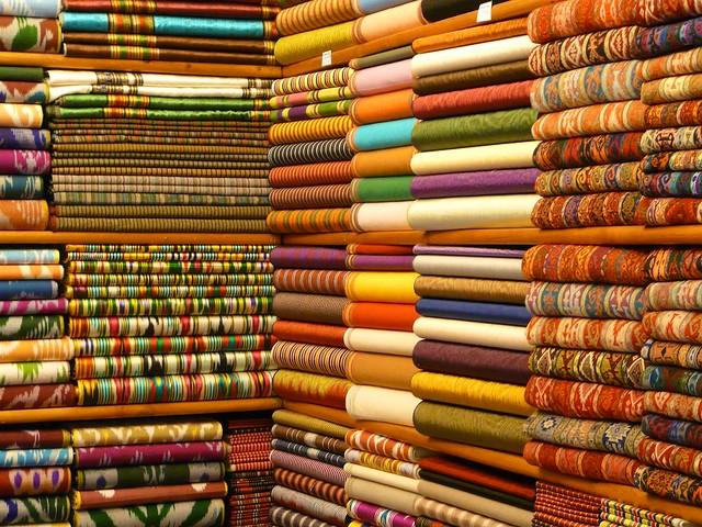istanbul grand bazaar fabric shop aderca flickr. Black Bedroom Furniture Sets. Home Design Ideas